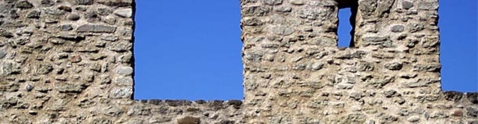 Blanki muru otaczającego Lenzburg